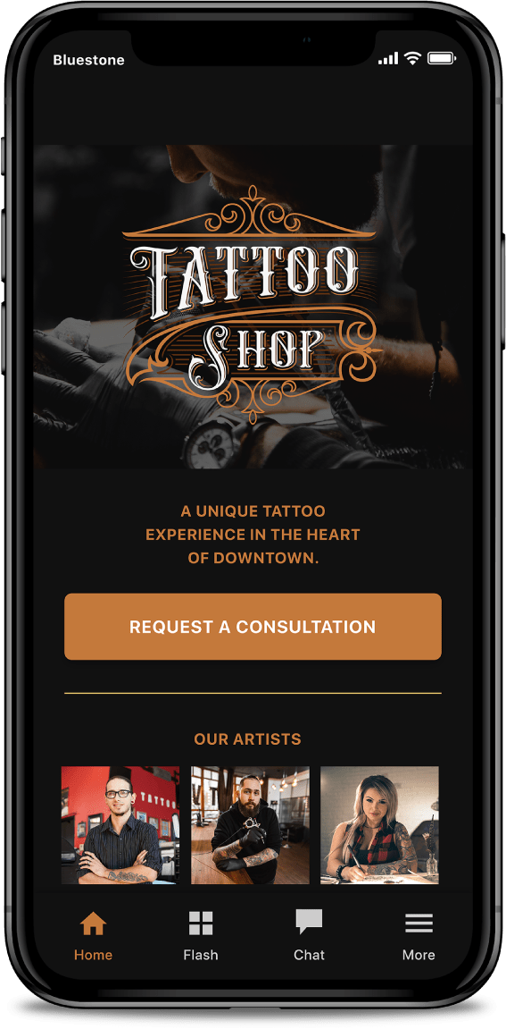 Tattoo-Artist-Booking-App-Screen