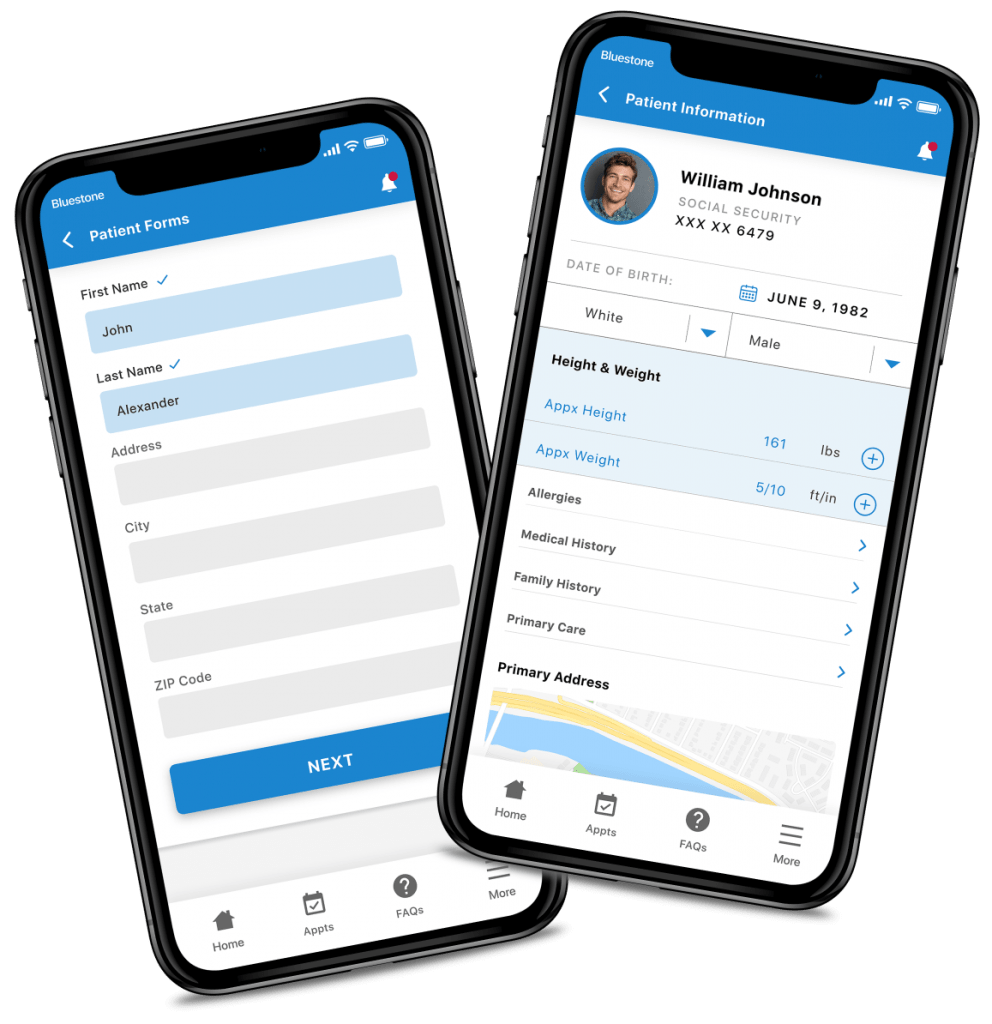 mental-health-care-app-patient-forms-and-patient-history-app-screens