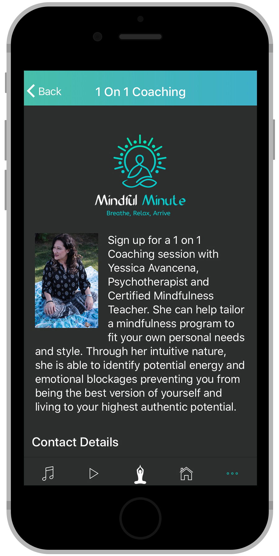 Mindful Minute App