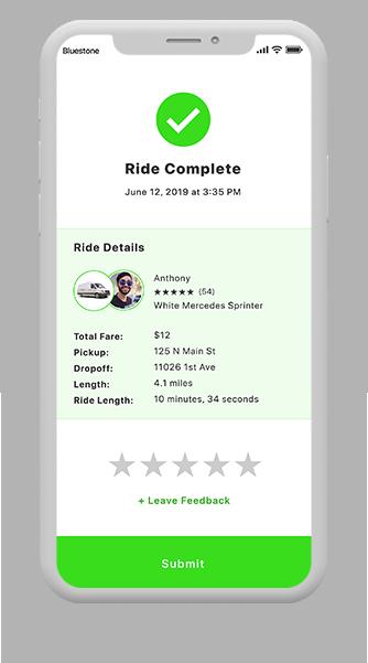 Rideshare app